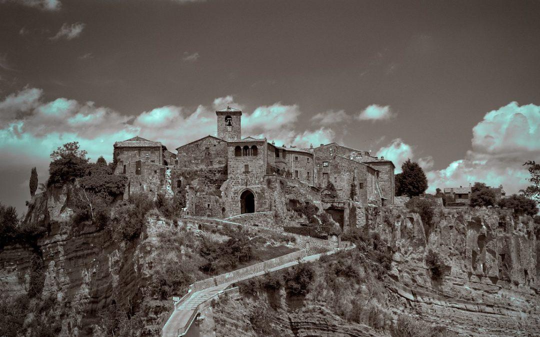 Civita di Bagnoregio un posto che devi assolutamente vedere.