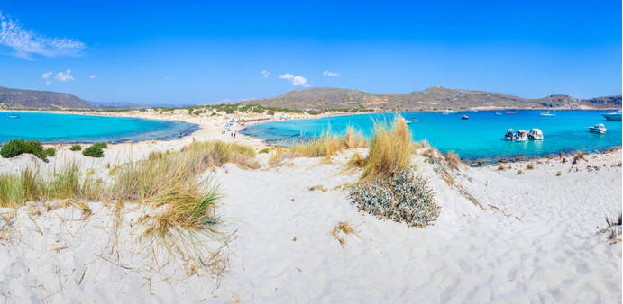 Le 10 spiagge più belle del Peloponneso.