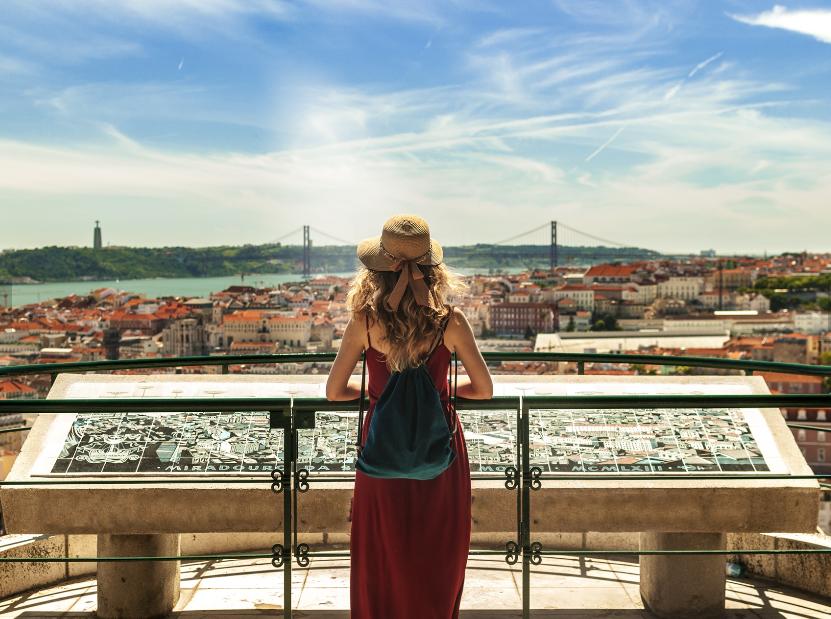 Lisbona, avvicinarsi al cuore
