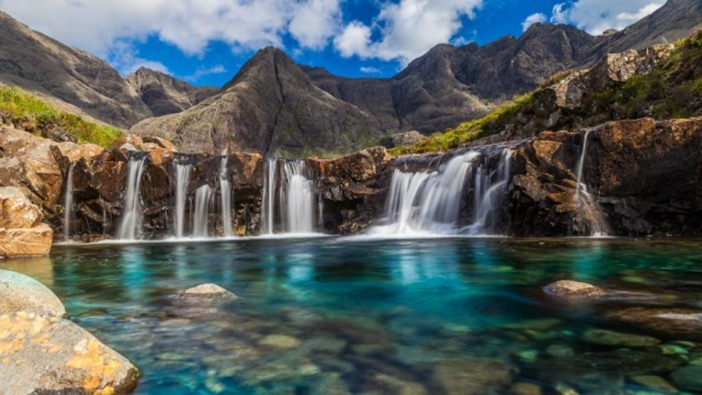 La piscina delle fate in Scozia